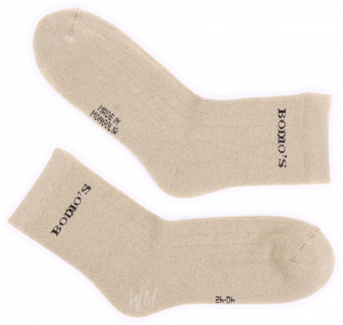 Носки из шерсти верблюжонка