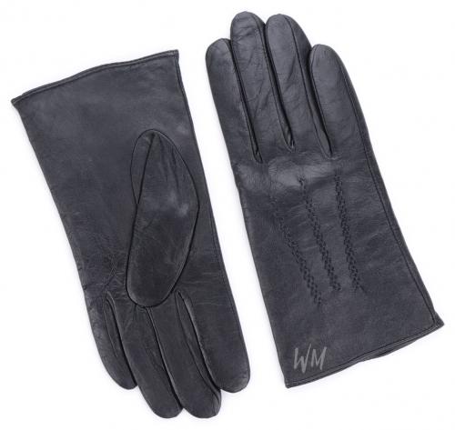 Перчатки кожаные с подкладом из шерсти яка