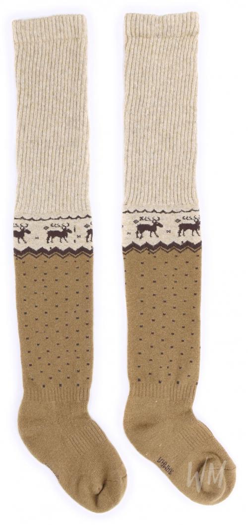 Гольфы из верблюжьей шерсти