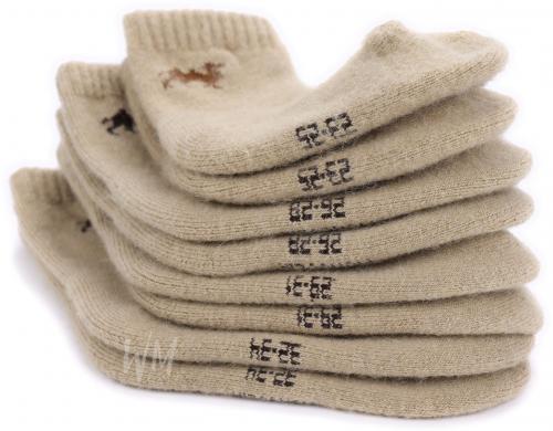 Детские носки из шерсти верблюжонка