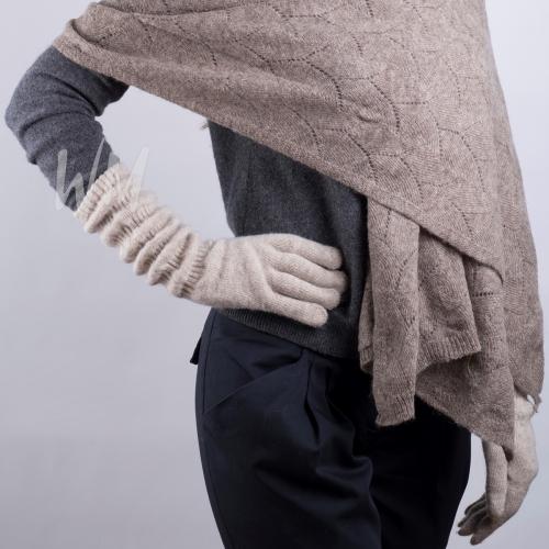 Перчатки женские из верблюжьей шерсти