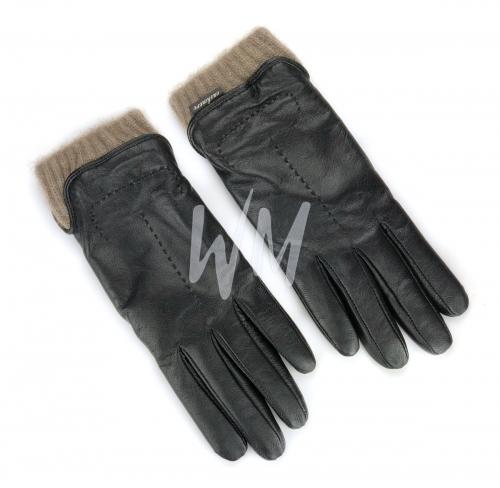 Перчатки кожаные с подкладом из кашемира. Женские