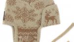 Шапка детская из верблюжьей шерсти